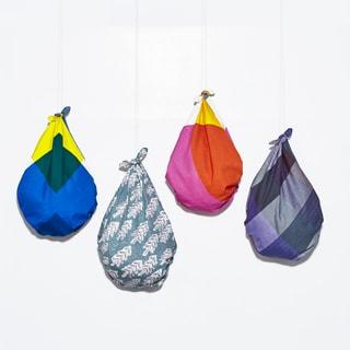 変幻自在のマイバッグ「ふろしき」の簡単おしゃれな結び方