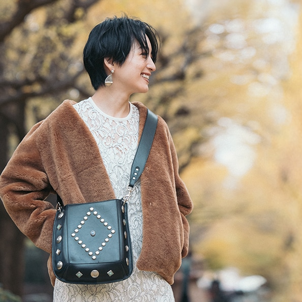 大草さんに憧れ1年越しで買ったファーコートをラフに【5日間コーディネート】