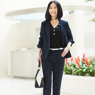 キャリアカウンセラー 露木典枝さんの場合「インナーに変化が欲しい」「休日も着まわしたい」を叶えるのは