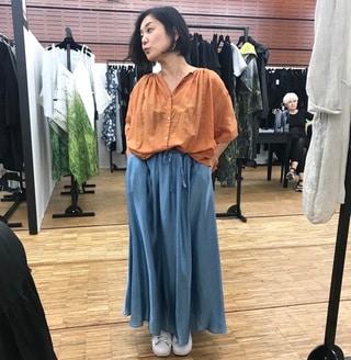 日本発、素敵なロングスカートをオーダー。