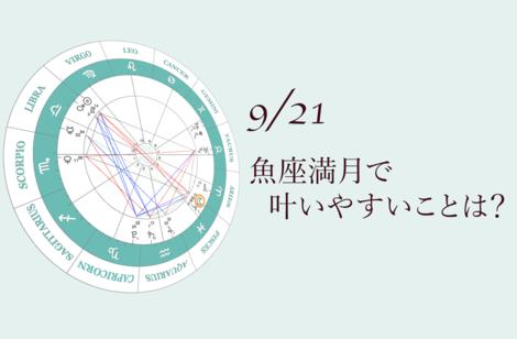 2021.9.21魚座満月のアドバイス