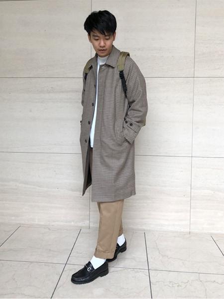 編集部柳田がセレクト!秋から冬まで着られる、まず買っておきたいメンズコート3選スライダー2_1