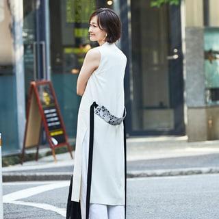 強くて、凛々しいオールホワイトスタイル