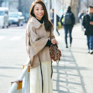 シーズンレスで楽しみたい! 華やかスカートスタイル