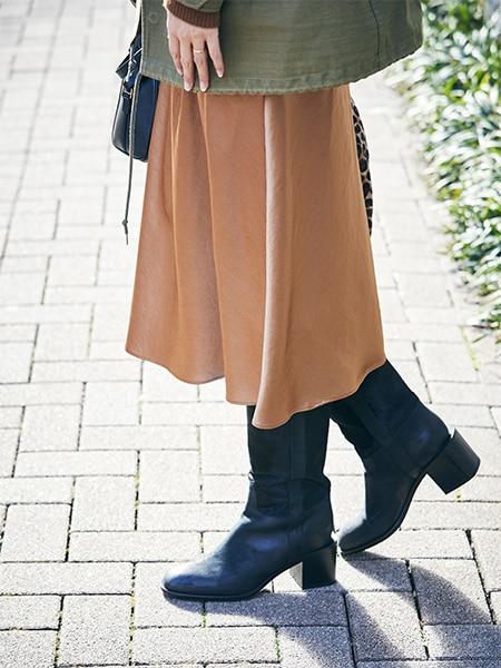 パンツ派のスカートスタイルは「ミックス感」が鍵 【5日間コーデ】スライダー1_3