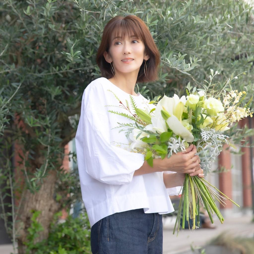 女優・大河内奈々子43歳「空白の3年でフラワースタイリストになった理由」