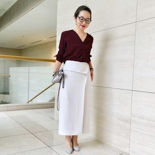 【コラボ着比べ隊】ドレスアップにも着られる究極のスカート/スタイリスト望月律子監修