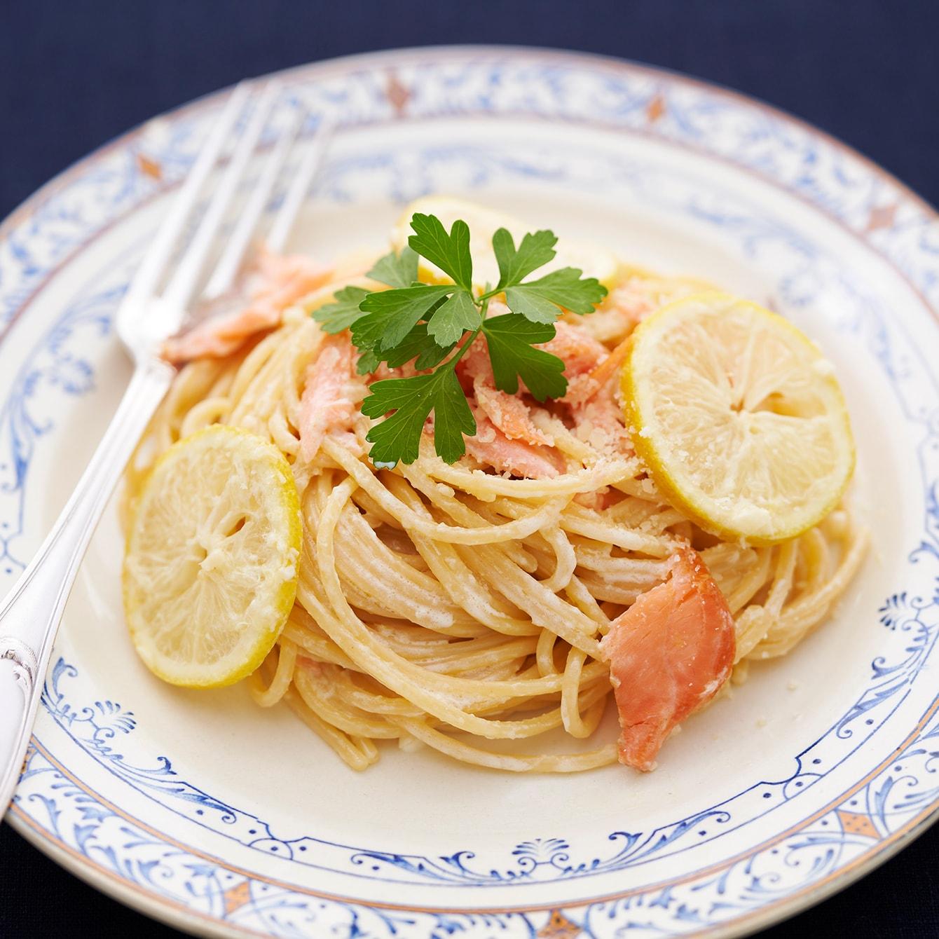 【レシピ】爽やか&クリーミィの絶妙バランス。レモンとサーモンのクリームパスタ