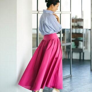 【40代ファッション】春こそ気負わずトライ!ピンクの大人な着こなしテク