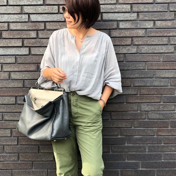 【40代コーデ】きれいめカジュアル派スタイリスト望月律子さんの最新ルック