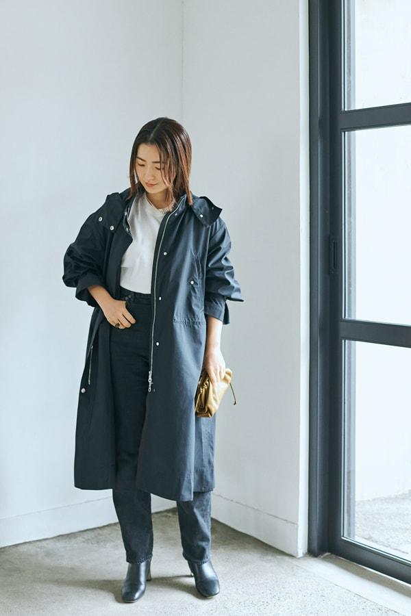 今春のコートは、300日着られる黒のスポーティタイプを選択【スタイリスト川上さやか】スライダー1_1