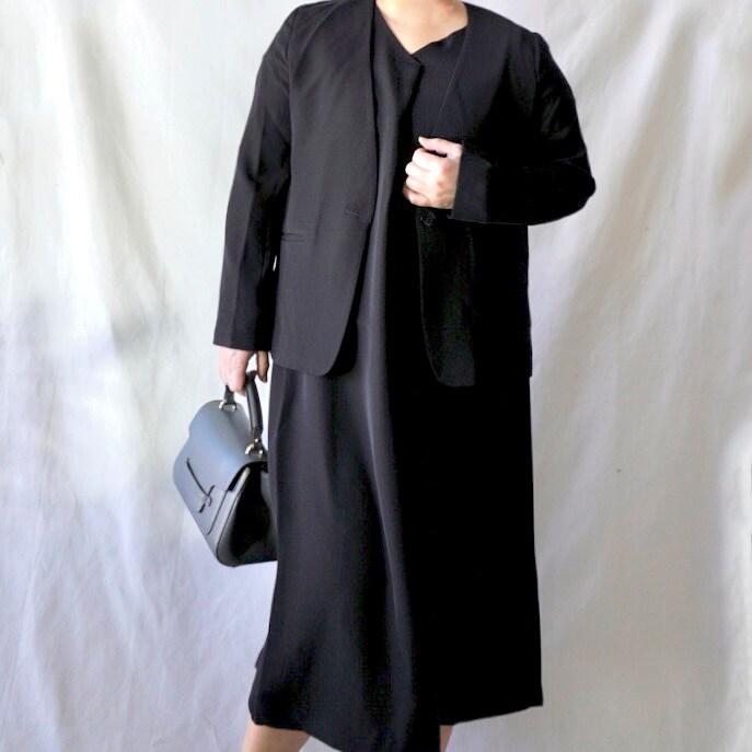 【ユニクロ、GU、H&M】まだ間に合う!プチプラで入学式コーデ。ぽっちゃり母着用