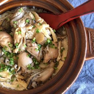 【旬食材レシピ】牡蠣の土鍋ご飯と牡蠣のチャウダー