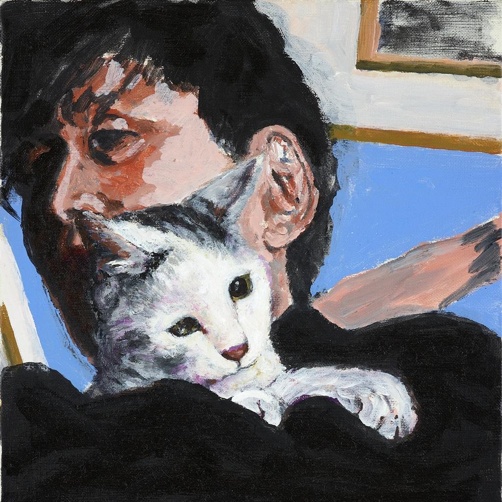 ペット高齢化とペットロス問題。横尾忠則が描く愛猫の死の喪失と再生