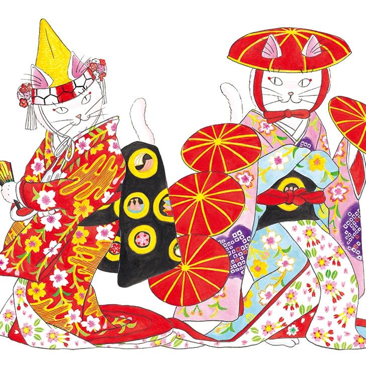 話題のかぶきねこが解説する歌舞伎の人気演目の見方