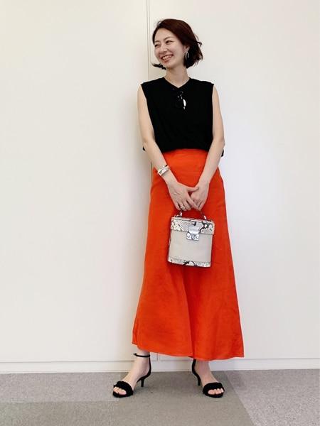 フェミニン代表・林 智子さんがセレクト!大人目線の「Tシャツスタイル」スライダー1_1