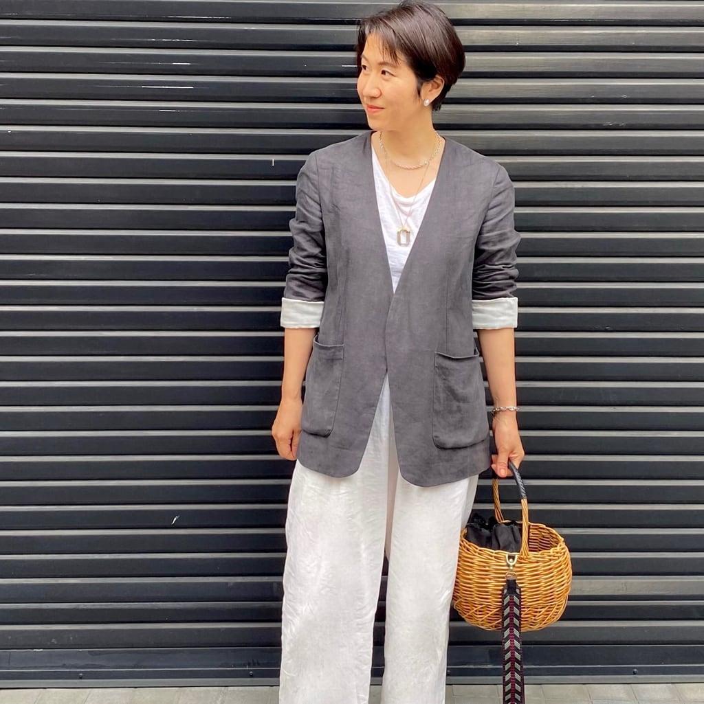 ジェーン・バーキン的「かごバッグ」に夢中です
