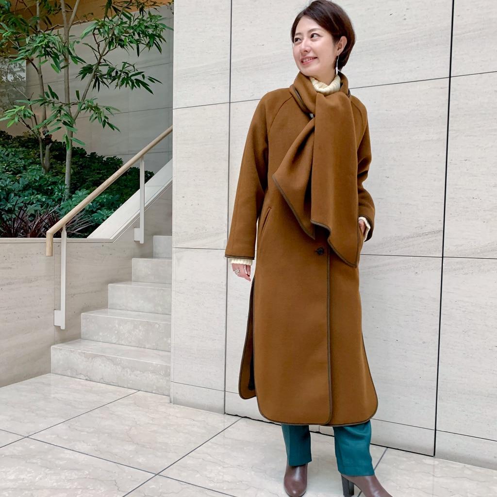 セールで欲しい!アースカラーのコート【きれいめ派代表・林 智子さん】【動画あり】