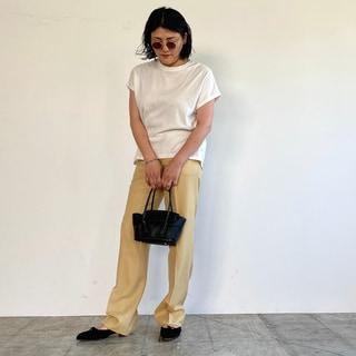 大人の「白Tシャツ」はきれいめに着れば失敗しない!【スタイリスト斉藤くみさん】