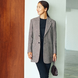 コートのかわりに「ロングジャケット」。この秋おすすめの2つのスタイル