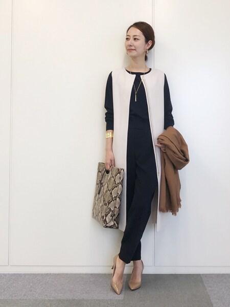 気分とスタイルにフィットする私のお気に入りブランド【きれいめ派代表・林 智子さん】スライダー1_1