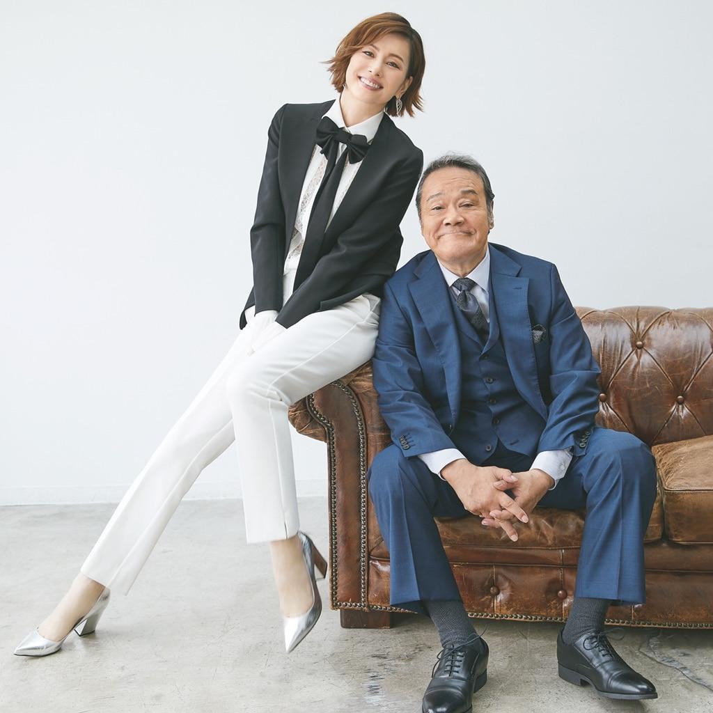 米倉涼子×西田敏行対談「父親より親戚のおじさんみたいな存在」