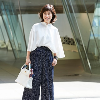 【40代コーデ】シャツ美人の着こなし100選