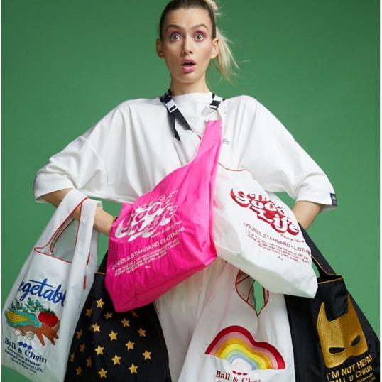 【エコバッグ】人気6ブランドとコラボした、おしゃれすぎるショッピングバッグに注目!