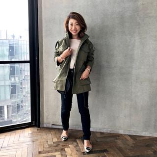 梅雨寒に備えて、アウターを検討中! ~アッパーハイツのミリタリージャケット~ by鈴木亜矢子