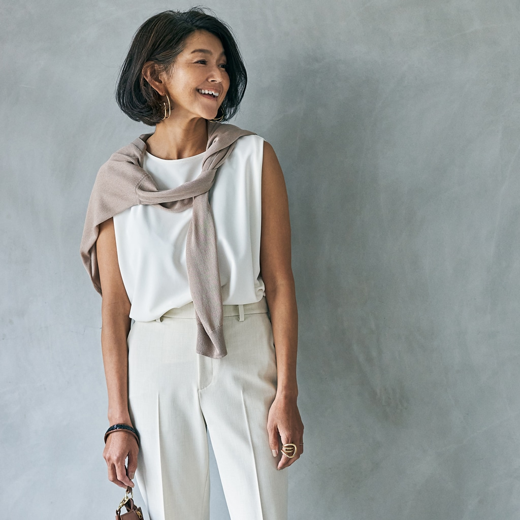 ユニクロ、GU...夏に大人がコスパブランドを着るコツは「ワントーン」
